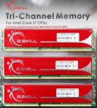 G.Skill DDR3 Triple Channel RAM