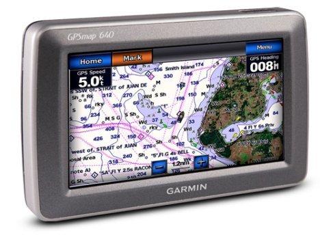 Garmin GPSMAP 640 GPS Navigation System