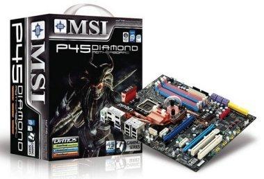 MSI P45 Diamond Motherboard Box