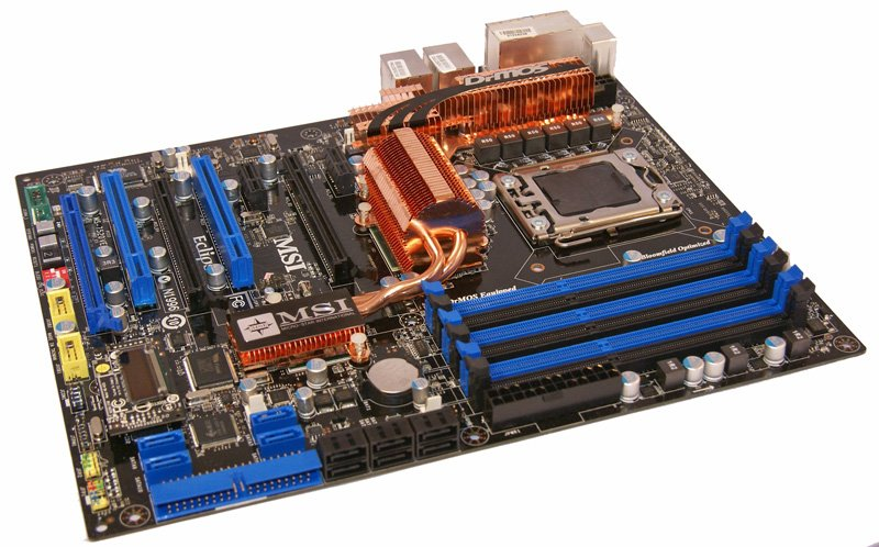 MSI X58 Eclipse Motherboard
