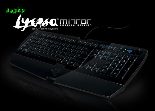 Razer Lycosa Mirror Special Edition and Razer Arctosa Gaming Keyboards