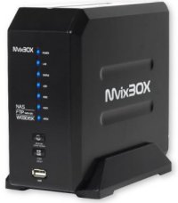 MvixBox 2-bay NAS and Network Media Player