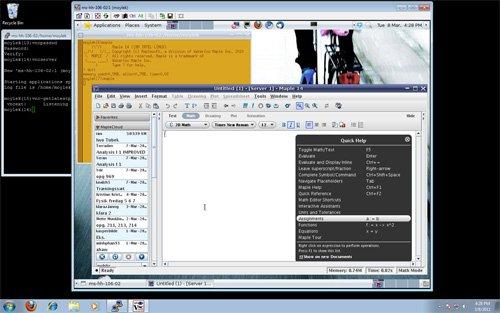 Installing the VNC server