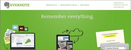 Evernote (Multiple PC, Mobile and Phone)