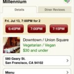 OpenTable for iPhone