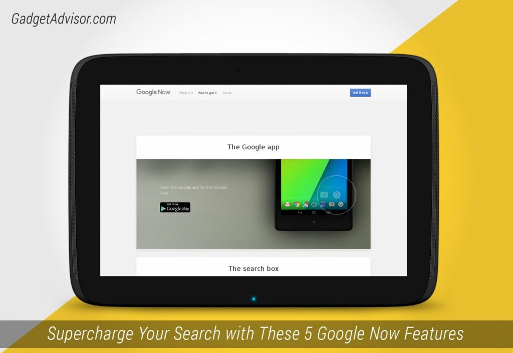 Supercharge Your Search with These 5 Google Now Features