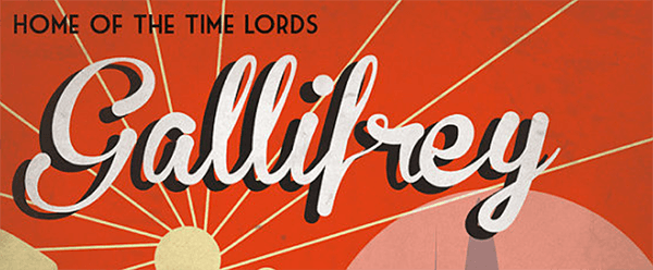 Retro Sci-Fi Gallifrey Travel