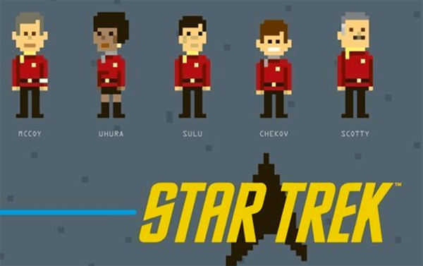Star Trek- Pixels
