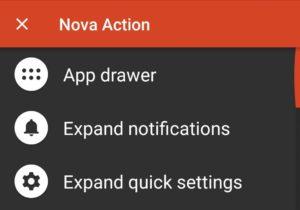 nova launcher app drawer