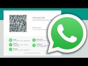 Web WhatsApp QR code