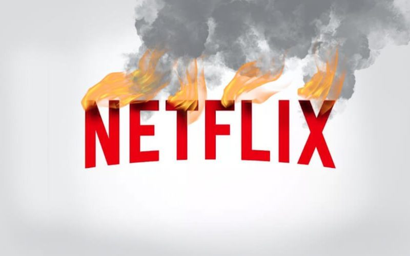 netflix burning logo