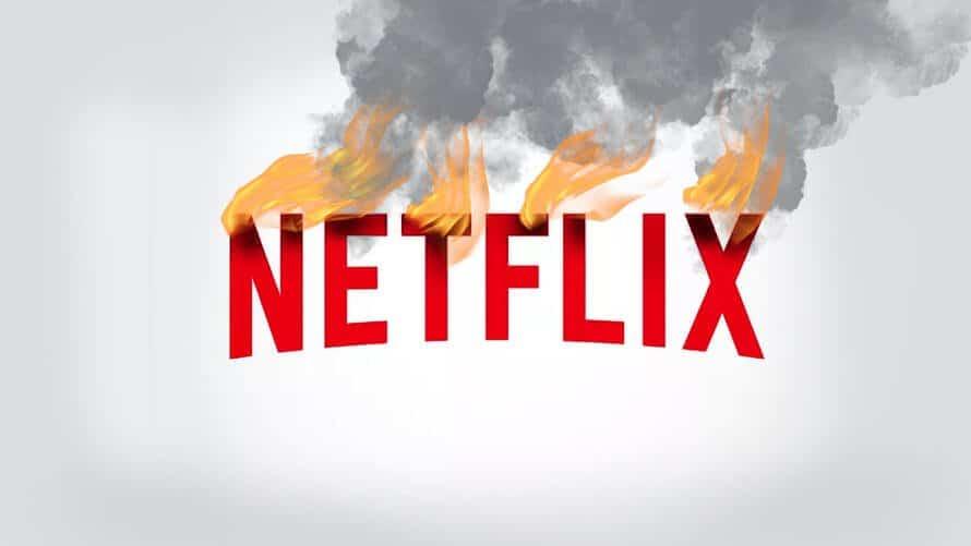 netflix burning logo