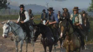 Red Dead Redemption group people