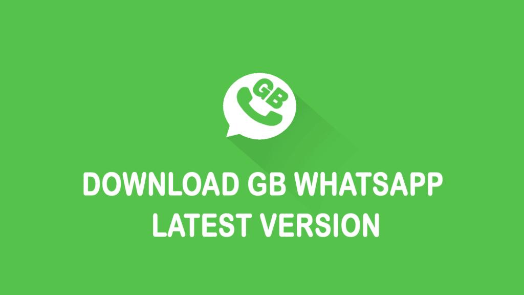 Download GBWhatsApp latest
