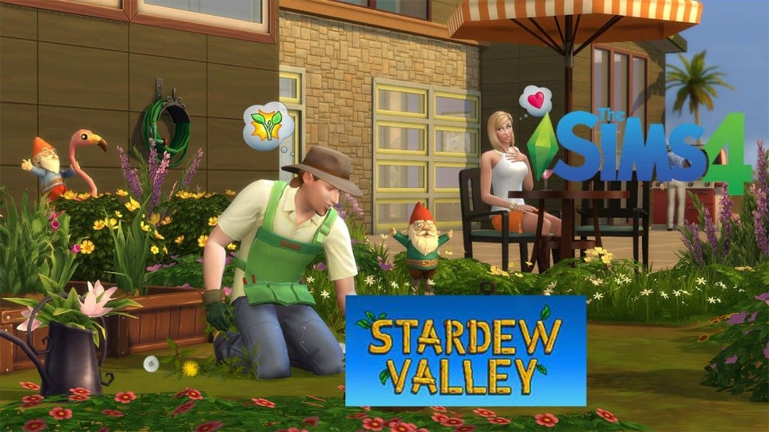 The sims 4 x Stadew valley