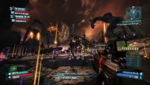 A screenshot of borderlands gameplay