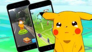 Sad Pikachu with Pokemon Go