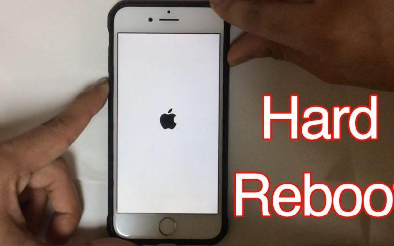 iPhone 7 restart