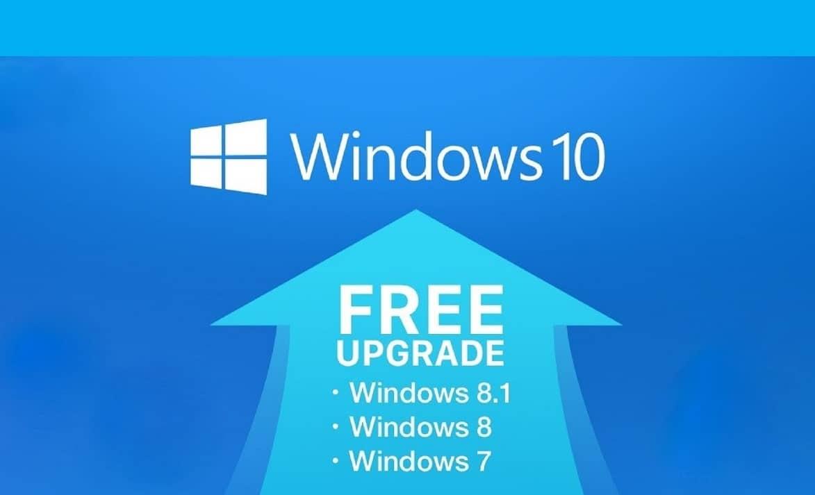can i upgrade windows 10 free