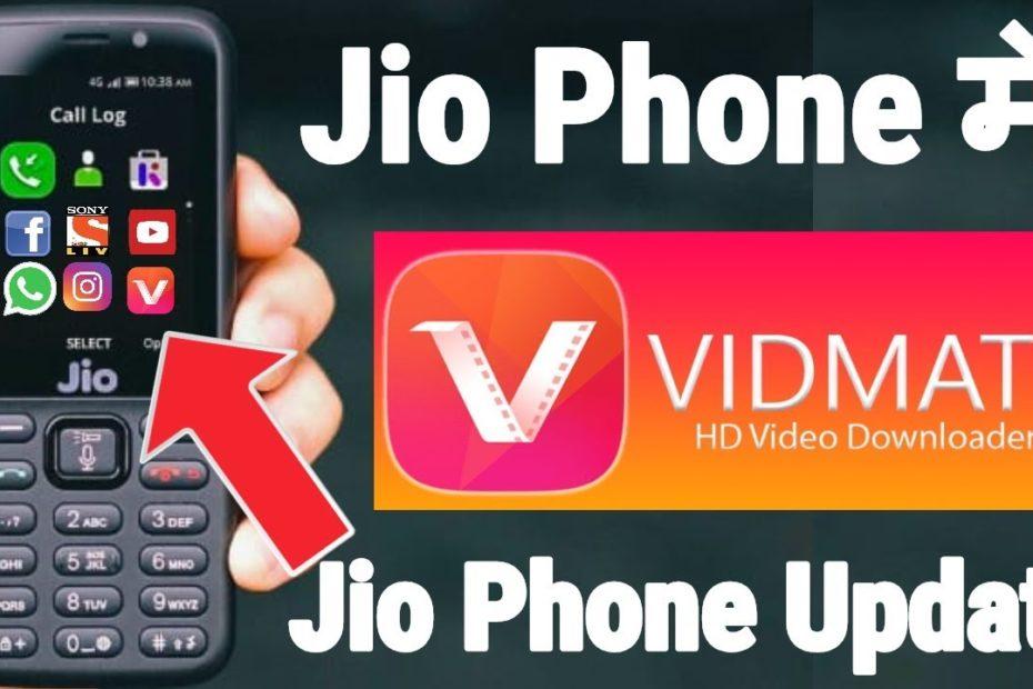 VidMate In Jio Phone