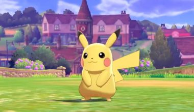 Pikachu on Pokemon Sword and Shield