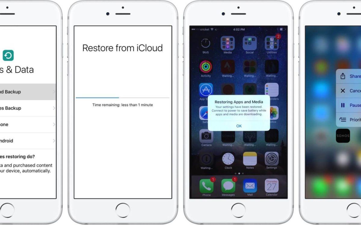 Restore iOS