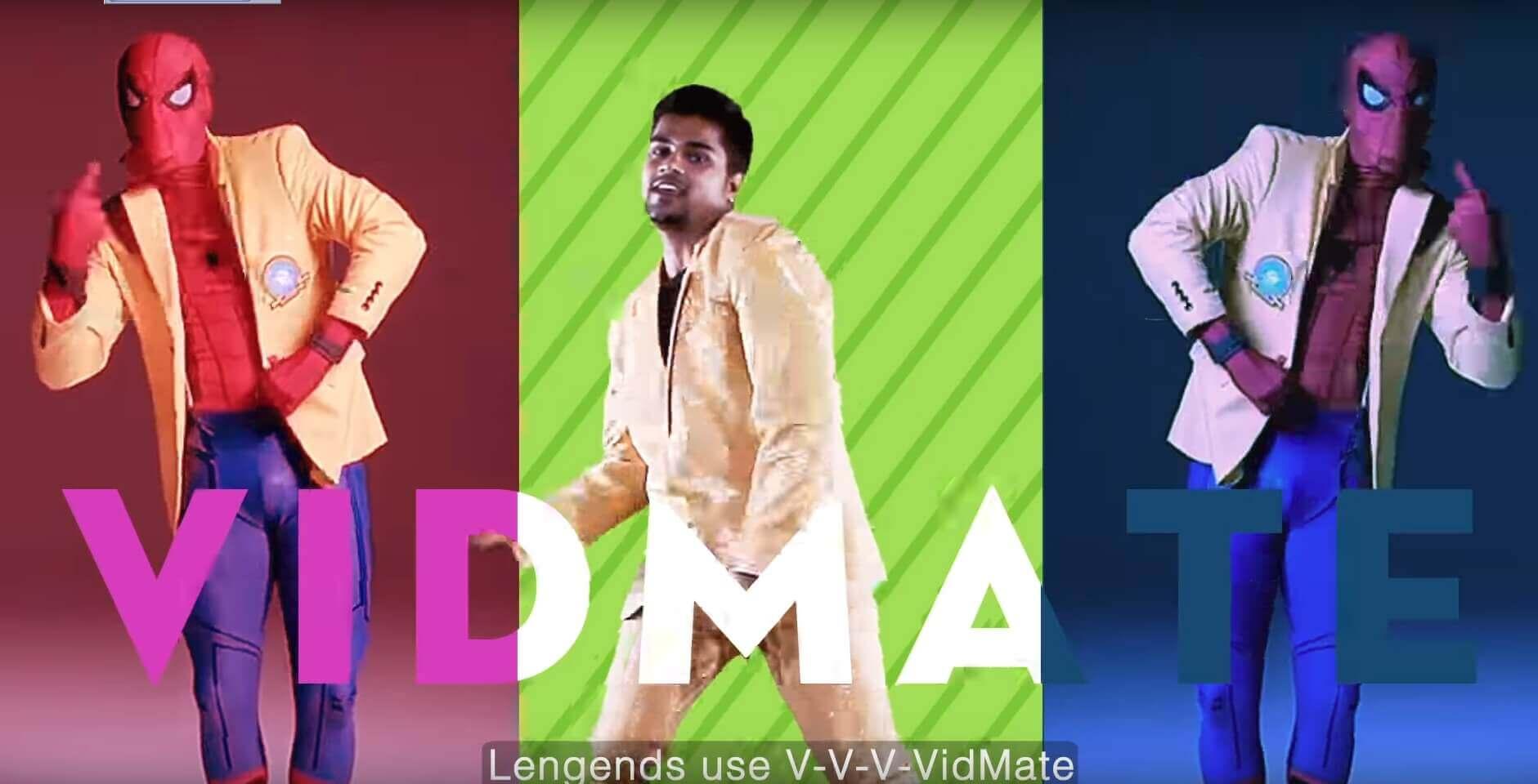 VidMate advertisement