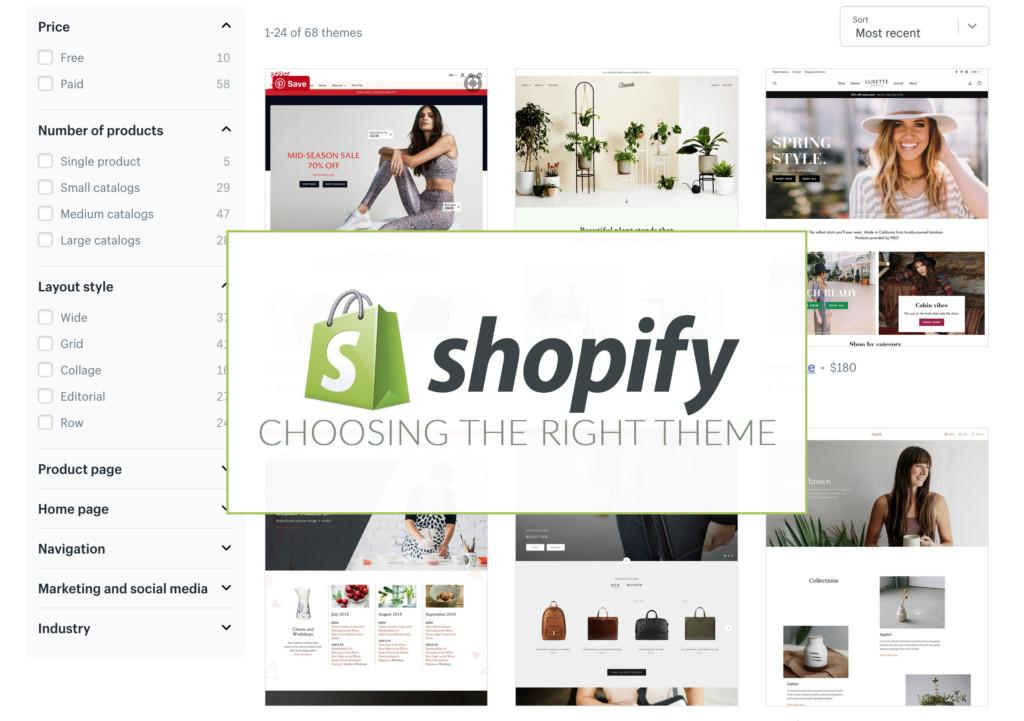 Guide To Choose The Best Shopify Theme - E-Commerce Tips